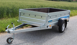 Přívěs Faro Tractus 263x125x45 750kg wood