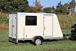 Přívěs skříňový TFS 320S.00 320x150x150 750kg okna+dveře