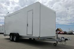 Skříňový přívěs Tomplan TFS 600T.01 3000kg 1x dveře, rampa
