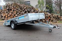 Přívěs UNK VZ1800x3000  1300kg sklopný