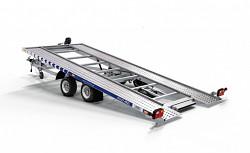 Přívěs Lorries PLI27-4521 2700kg 450x210 sklopný autopřepravník