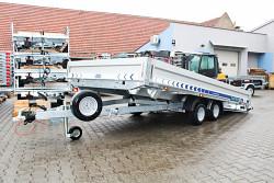 Přívěs Lorries PLB27-4521 2700kg 450x210 sklopný valník