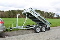 Přívěs Prakti Dumper 2614/2 750kg sklopný