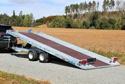 Přívěs UNK AUTO21 2100x5000 sklopný 3000kg