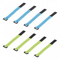 Vázací pásky na suchý zip 8ks 16cm