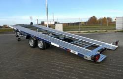 Přívěs Lorries PLI35-5521 3500kg sklopný autopřepravník