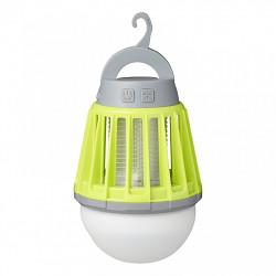 LED lampa se zabijákem hmyzu 2+1 nabíjecí USB 12V