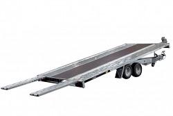 Přívěs GT 450 Kippbar 2,7t sklopný autopřepravník