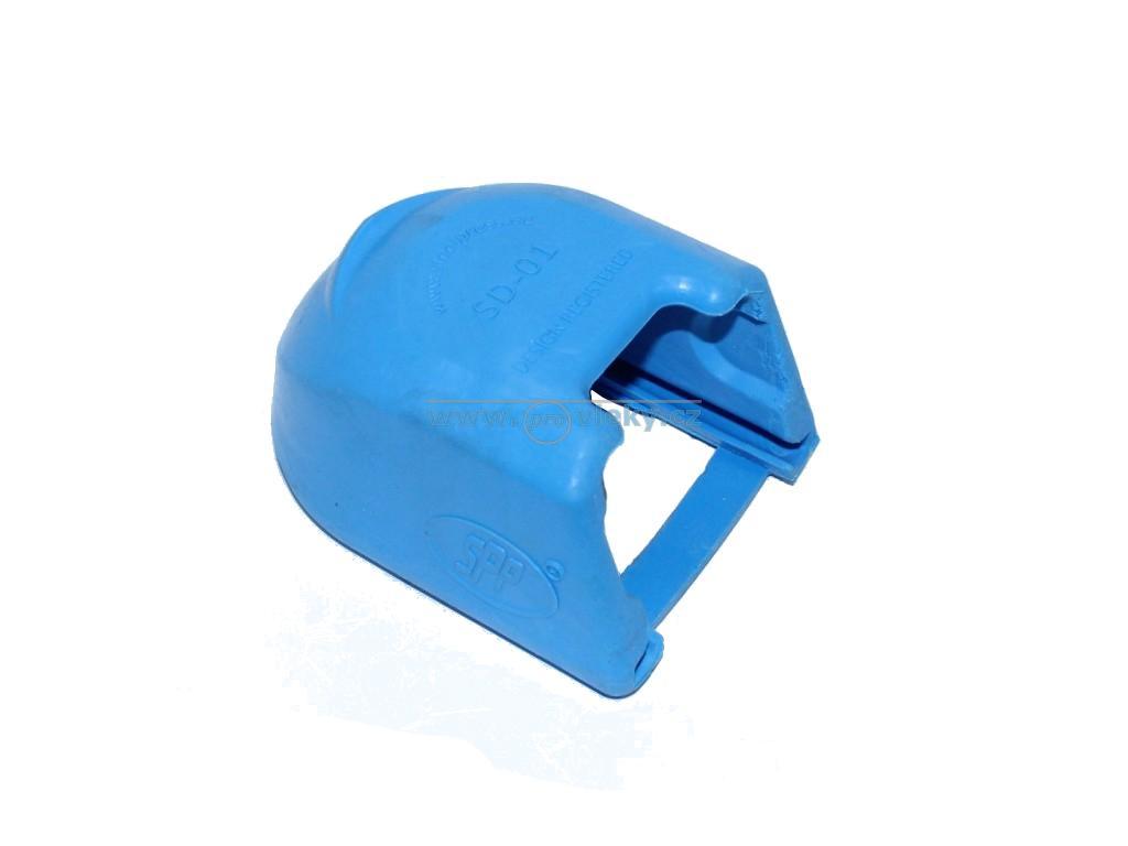 Kryt kloubu gumový SD-01B pro ZSK a BC modrý - Náhradní díly - Příslušenství