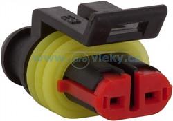 AMP Super-seal konektor – 2-póly (vidlice)