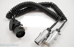 Redukce 2x7-pól. vidlice 24V – 15-pól. vidlice kabel