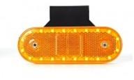 Oranžové poziční svítilny