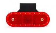 Červené poziční svítilny